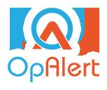Opalert logo